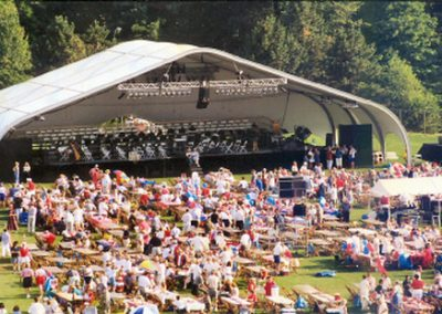 Stage with Cover